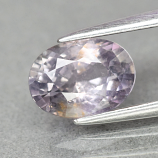 Genuine 100% Natural Purple Sapphire 1.47ct 7.6x 5.5m Oval SI1 Clarity