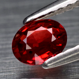 Genuine Red Sapphire .32ct 5.0 x 4.0mm Oval SI1 Clarity
