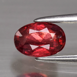 Genuine 100% Natural Red Sapphire .63ct 6.0 x 4.0mm Oval SI1 Clarity