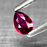 Genuine 100% Natural Ruby .20ct 4.5 x 3.0mm Pear SI1 Clarity