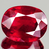 Genuine RUBY 2.59ct 9.0 x 7.1mm Oval SI2 Clarity