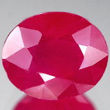 Genuine RUBY 2.72ct 8.5 x 6.6mm Oval SI1 Clarity