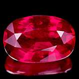 Genuine RUBY 3.67ct 11.3 x 7.4mm Oval SI1 Clarity