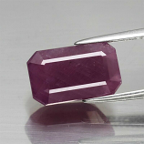 Genuine 100% Natural Ruby 6.75ct 12.5 x 7.6mm Octagon I1 Clarity