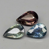Genuine 100% Natural Sapphires 1.62cts 6.0 x 4.0mm Pears SI1 Clarity 3 Piece Lot