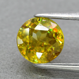 Genuine 100% Natural Sphene .89ct 5.8 x 5.8mm Round Cut SI1 Clarity