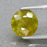 Genuine 100% Natural Sphene 0.91ct 6.0 x 6.0mm Round Cut SI1 Clarity