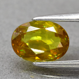 Genuine 100% Natural Sphene 0.93ct 7.0 x 5.2mm Oval VS Clarity