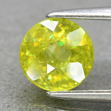 Genuine 100% Natural Sphene 0.96ct 6.0 x 6.0mm Round Cut SI1 Clarity