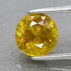Genuine 100% Natural Sphene .97ct 6.0 x 6.0mm Round Cut SI1 Clarity