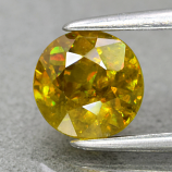 Genuine 100% Natural Sphene 1.03ct 6.0 x 5.8mm Round Cut SI1 Clarity