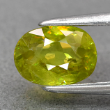 Genuine 100% Natural Sphene 1.04ct 7.2 x 5.2mm Oval SI1 Clarity