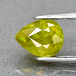 Genuine 100% Natural Sphene 1.17ct 7.0 x 5.6mm Pear SI2 Clarity