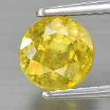 Genuine 100% Natural Sphene 1.25ct 6.0 x 6.0mm Round Cut SI1 Clarity