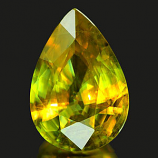 Genuine 100% Natural Sphene 1.27ct 8.6 x 6.0mm Pear SI1 Clarity