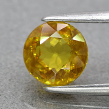 Genuine 100% Natural Sphene 1.32ct 6.0 x 6.0mm Round Cut SI1 Clarity