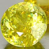 Genuine 100% Natural Sphene 0.75ct 5.6 x 5.6mm Round Cut VS1 Clarity