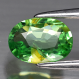 Genuine 100% Natural Tsavorite Garnet .80ct 7.0 x 5.0mm Oval SI1 Clarity