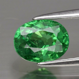 Genuine 100% Natural Tsavorite Garnet 1.25ct 7.0 x 5.5mm Oval SI1 Clarity