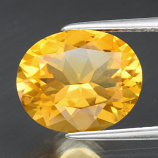 Genuine 100% Natural Citrine 3.74ct 12.0 x 10.0mm Oval VVS Clarity