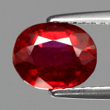 Genuine Ruby 1.91ct 7.7x6x4.1mm SI1 Mozambique