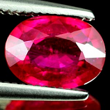 Genuine RUBY 1.20ct 8.0 x 5.9 x 2.9mm Oval