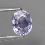Genuine 100% Natural Purple Sapphire 1.19ct 6.7 x 5.5mm SI1 Madagascar
