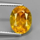 Genuine 100% Natural Yellow Tourmailne 2.76ct 10x8x5.8mm SI2 Mozambique