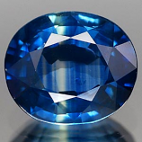 Genuine BLUE SAPPHIRE .86ct 6.2 x 5.3 x 2.9mm Oval