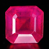 Genuine Ruby 1.94ct 6.2 x 6.0mm Square VS1 Clarity