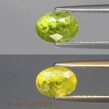Genuine 100% Natural Sphene 1.30ct 6.8 x 5.0mm Oval SI2 Clarity