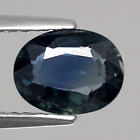 Genuine 100% Natural Greenish Blue Sapphire 1.11ct 7.3 x 5.5mm SI1 Thailand