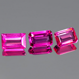 Genuine 100% Natural PINK TOURMALINE .60ct 6.4 x 4.2 x 2.8mm Octagon