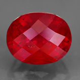 Genuine RUBY 1.88ct 7.0 x 5.8 x 5.6mm Oval/Fancy Cut