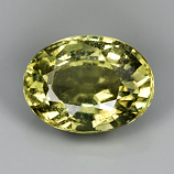 Genuine Green Sapphire 1.01ct 6.6 x 5.0 SI