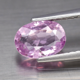 Genuine 100% Natural Pink Sapphire 1.13ct 7.3x5.2x2.8mm SI1 Madagascar