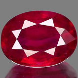 Genuine RUBY 1.45ct 8.1 x 6.1 x 3.3mm Oval