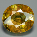 Genuine 100% Natural Sphene 3.06ct 9.3 x 8.2mm Oval SI2 Clarity