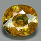 Genuine 100% Natural Sphene 3.06ct 9.3x8.2x5.0 SI2 Madagascar