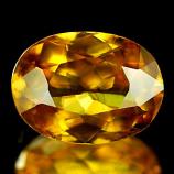 Genuine 100% Natural Sphene 1.20ct 7.8 x 5.8 x 3.4mm Madagascar SI