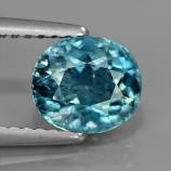 Genuine 100% Natural Aquamarine 1.17ct 7.2 x 6.3mm Oval SI1 Clarity