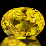 Genuine YELLOW SAPPHIRE 1.62ct 7.6 x 5.6 x 4.4mm Oval (Certified)
