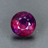 Genuine 100% Natural PURPLE PINK SAPPHIRE .65ct 5.2 x 5.2 x 2.8mm Round