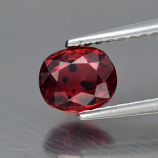 Genuine Red Sapphire 1.00ct 5.8 x 4.8mm SI2 Clarity
