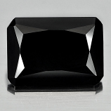 Genuine 100% Natural Black Spinel 7.00ct 14.0 x 10.0mm Octagon Opaque