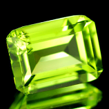 Genuine 100% Natural Peridot 1.58ct 7.7 x 6.0 x 3.7mm IF