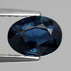 Genuine 100% Natural Greenish Blue Sapphire 1.38ct 7.3 x 5.5mm SI1 Thailand