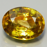 Genuine 100% Natural Sphene 2.27ct 9.0 x 7.0mm Oval VS2 Clarity