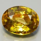 Genuine 100% Natural Sphene 2.27ct 9x7x4.4 VS2 Madagascar