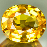 Genuine YELLOW SAPPHIRE 1.05ct 6.9 x 5.9 x 3.0mm Oval